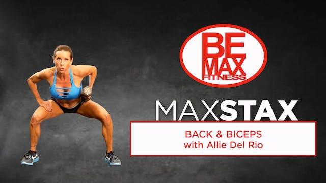 Bemax STAX: Back & Biceps