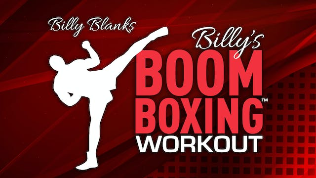 Billy Blanks: BoomBoxing