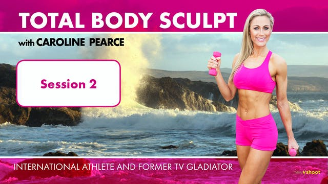 Caroline Pearce: Total Body Sculpt: S...