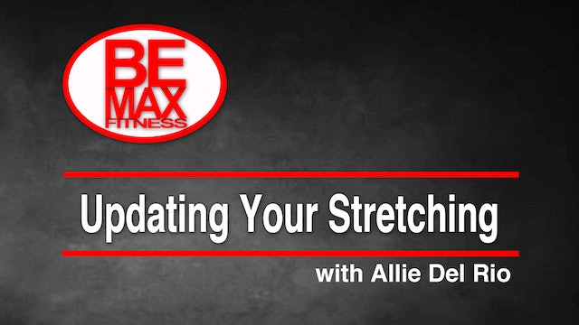 Updating Your Stretching