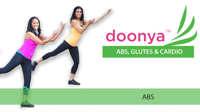 Doonya: Abs, Glutes and Cardio - Abs
