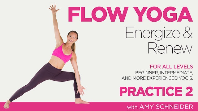 Amy Schneider: Flow Yoga Energize and Renew - Practice 2