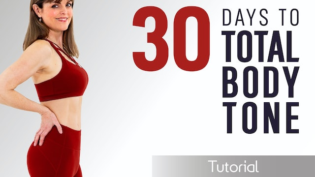 Caroline Sandry: 30 Days to Total Body Tone - Tutorial