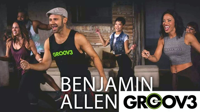 Groov3 by Benjamin Allen: Dance Sweat Live