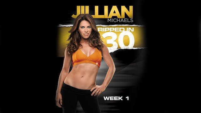 Jillian Michaels: Ripped in 30 - Week 1