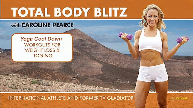 Caroline Pearce: Total Body Blitz - Yoga Cool Down