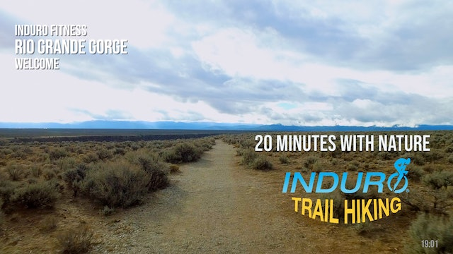 Induro Trail Hiking with Nature: Rio Gorge, New Mexico - 20 Minute Hike