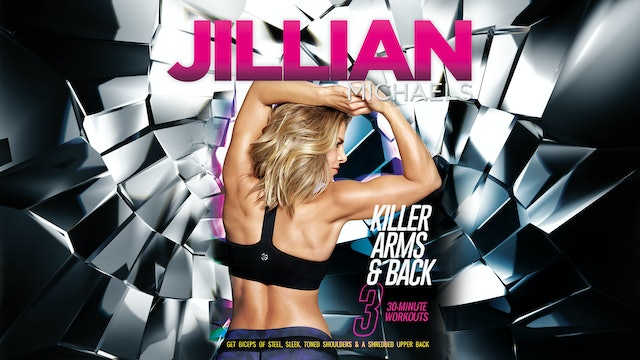 Jillian Michaels: Killer Arms and Back - Complete