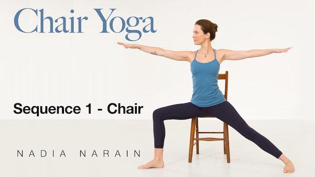 Nadia Narain: Chair Yoga - Sequence 1