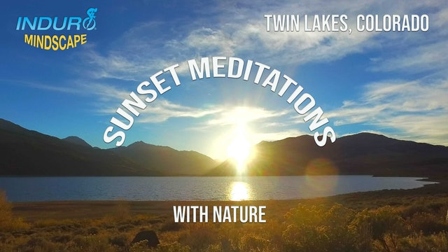 Induro Mindscape with the Sounds of Nature: Twin Lakes, Colorado
