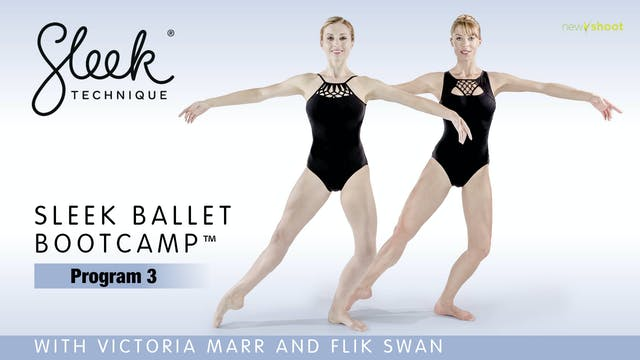 Sleek Ballet Bootcamp: Program 3