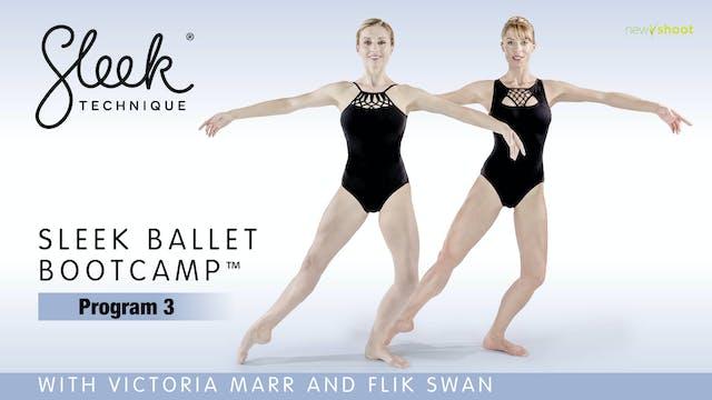 Sleek Ballet Bootcamp: Program 3