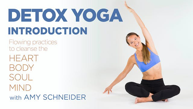 Amy Schneider: Detox Yoga - Introduction