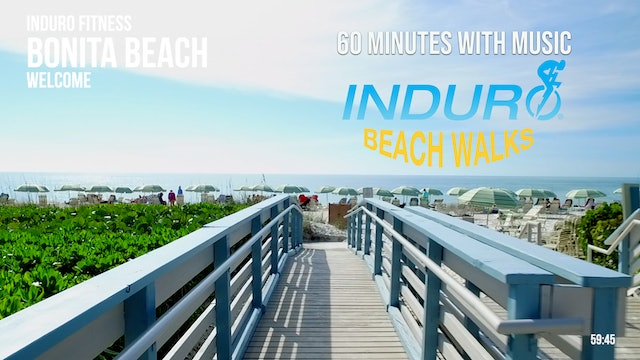 Induro Beach Walking with Music: Bonita Beach, Florida - 60 Minute Walk