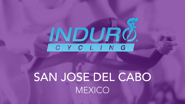 Induro Cycling Studio: San Jose del Cabo, Mexico