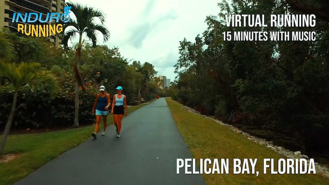 Induro Running: Pelican Bay, Florida - 15 Minute Run