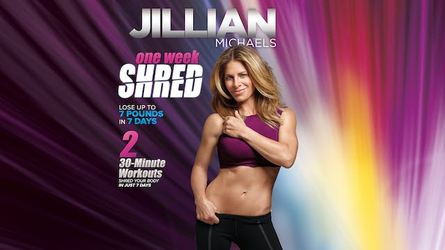Jillian Michaels: One Week Shred - Co...
