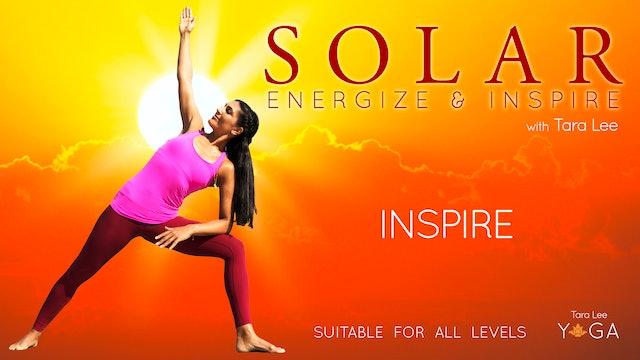 Solar: Energise & Inspire Yoga with Tara Lee - Solar Inspire