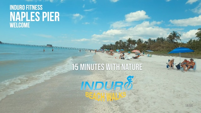 Induro Beach Walking with Nature: Naples Pier, Florida - 15 Minute Walk