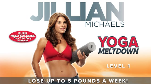 Jillian Michaels: Yoga Meltdown - Lev...