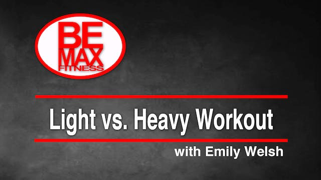 Light Dumbbells vs. Heavy Dumbbells
