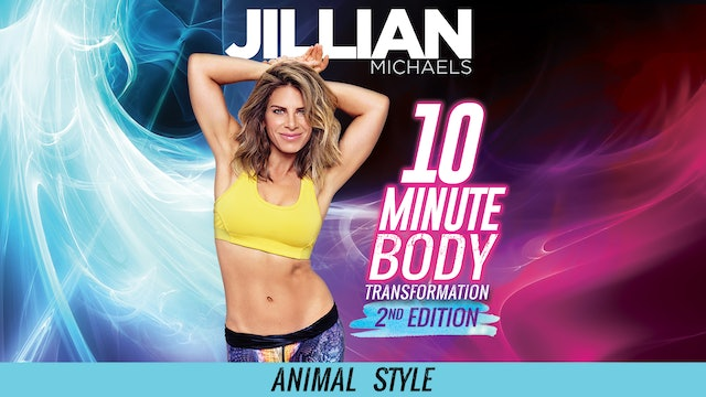 Jillian Michaels: 10 Minute Body Transformation 2nd Edition - Animal Style