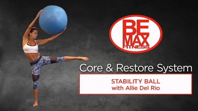 BEMAX Core and Restore: Stability Ball