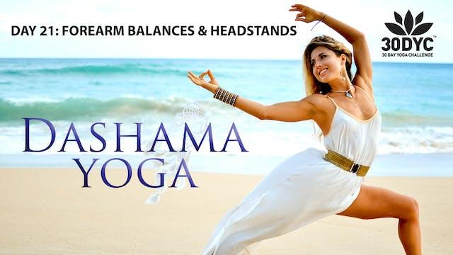 30 Day Yoga Challenge: Practice 21 - ...