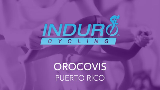Induro Cycling Studio: Orocovis, Puer...