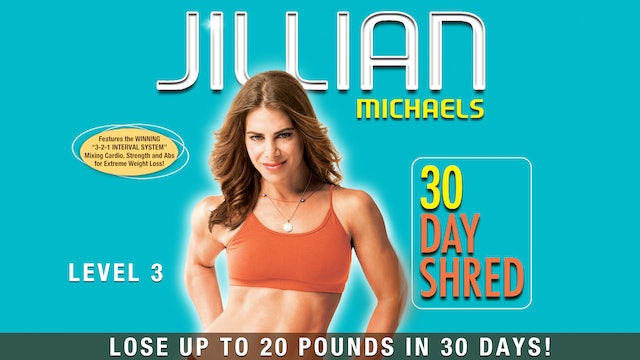 Jillian Michaels: 30 Day Shred - Level 3