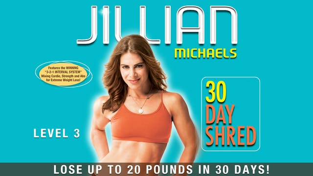 Jillian Michaels: 30 Day Shred - Level 3