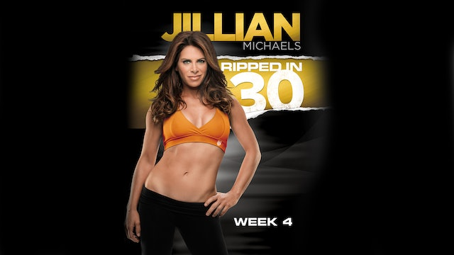 Jillian Michaels: Ripped in 30 - Week 4