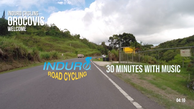 Induro Cycling with Music: Orocovis, Puerto Rico - 30 Minute Ride