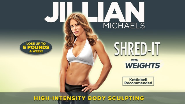 Jillian Michaels: Shred It With Weights - Complete
