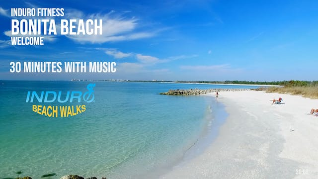 Induro Beach Walking with Music: Boni...