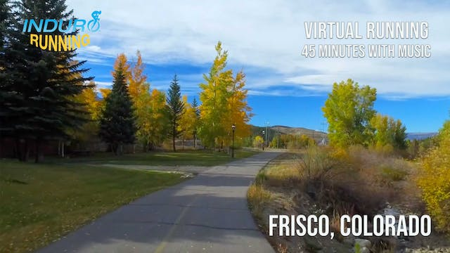 Induro Running: Breckenridge to Frisc...