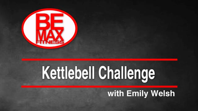 Bemax: Kettlebell Challenge