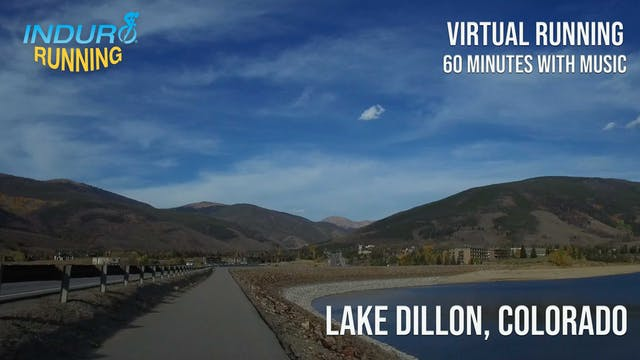 Induro Running: Lake Dillon, Colorado...