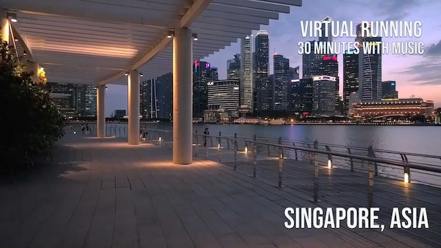 Induro Running: Singapore, Asia - 30 Minute Run