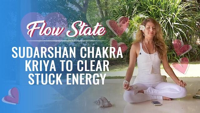 Dashama 7-Day Flow State Challenge: Day 7 - Chakra Kriya to Clear Stuck Energy
