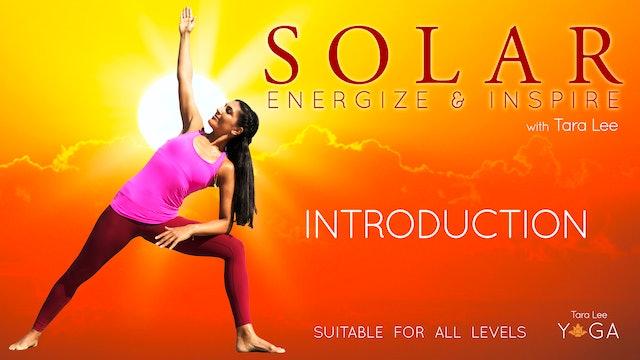 Solar: Energise & Inspire Yoga with Tara Lee - Introduction