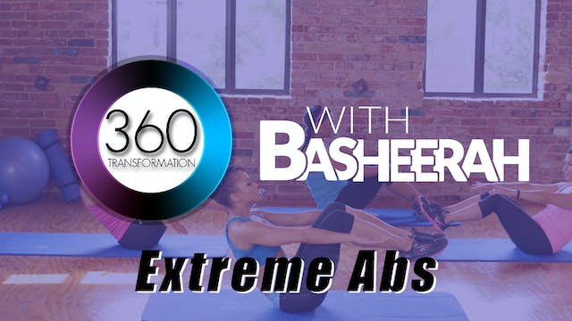 Basheerah Ahmad: Extreme Abs Workout