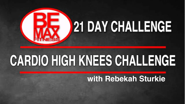 Bemax: Cardio High Knees