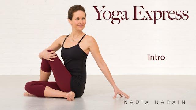 Nadia Narain: Yoga Express - Introduc...