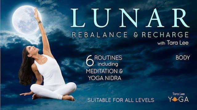 Lunar: Rebalance & Recharge Yoga with...