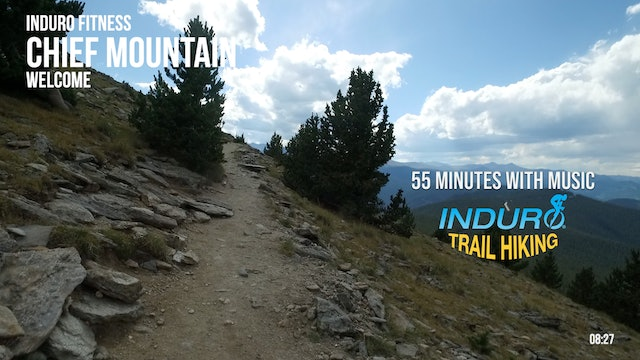 Induro Trail Hiking with Music: Chief Mountain, Colorado - 55 Minute Hike