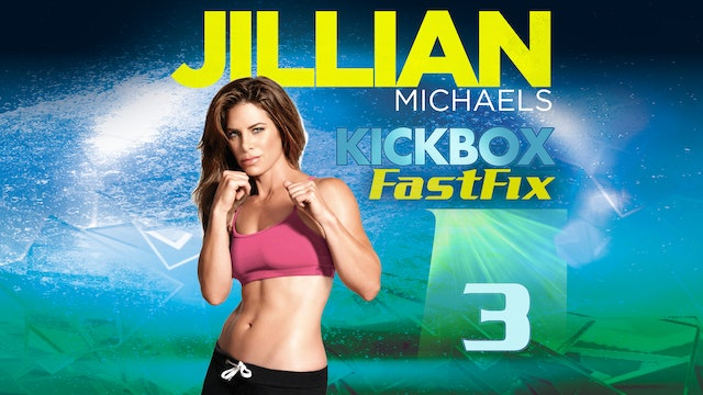 Jillian Michaels: Kickbox Fast Fix 3