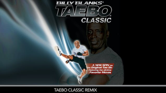 Billy Blanks: TaeBo Classic Remix