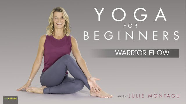 Yoga For Beginners: Practice 2 - Warr...