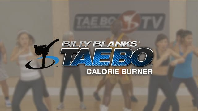 Billy Blanks: Calorie Burner